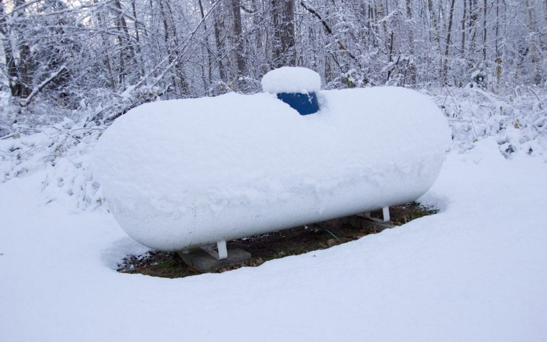 How to get your propane tank ready for winter