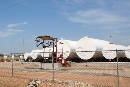 Franger Gas, Remote monitoring and automatic refills of propane tanks for commercial customers