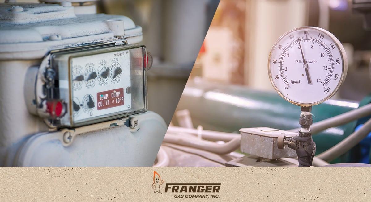 Franger Gas Natural Gas or Propane