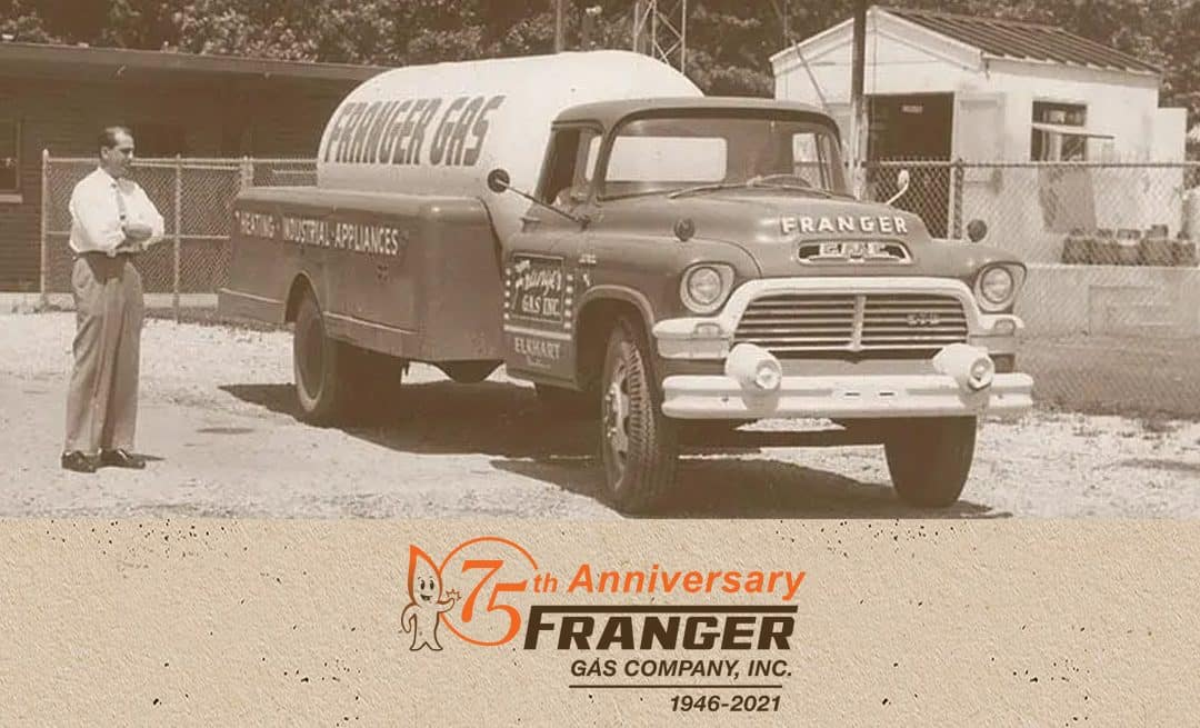 Let's Celebrate 75 years of Franger Gas!