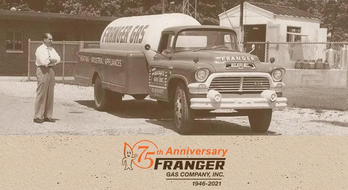 Franger Gas 75 Years